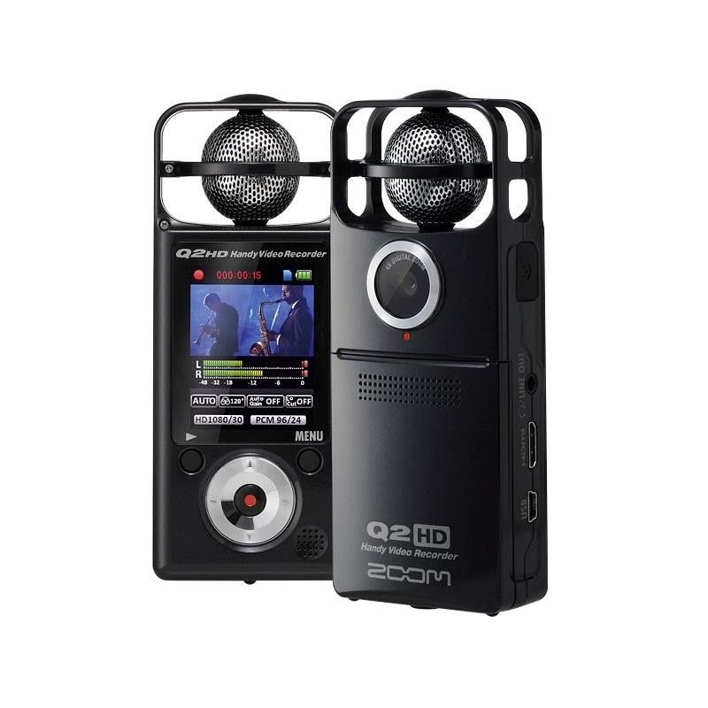 GRABADOR DIGITAL ZOOM Q-2HD BK