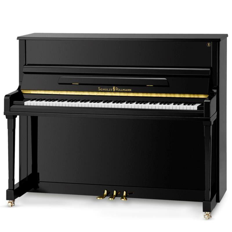 PIANO SCHULZE POLLMANN S-122 NEGRO PULIDO