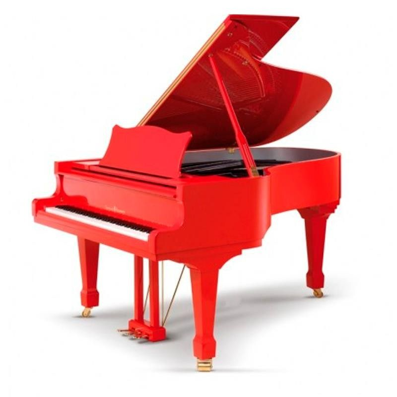 PIANO SCHULZE POLLMANN 197/G5 ROSSO FORMULA
