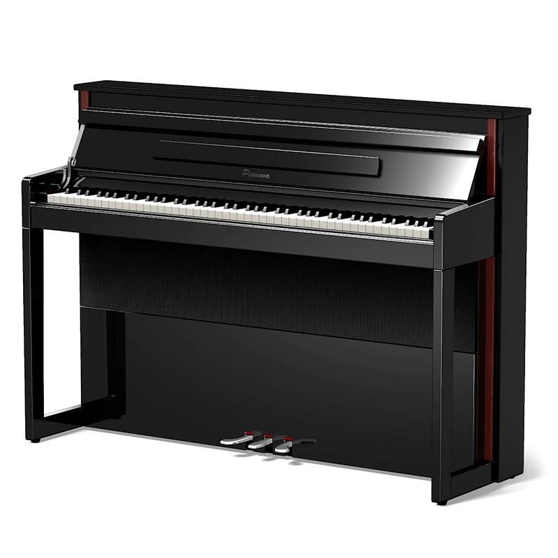 PIANO DIGITAL PIANOVA UP-125 PE NEGRO PULIDO