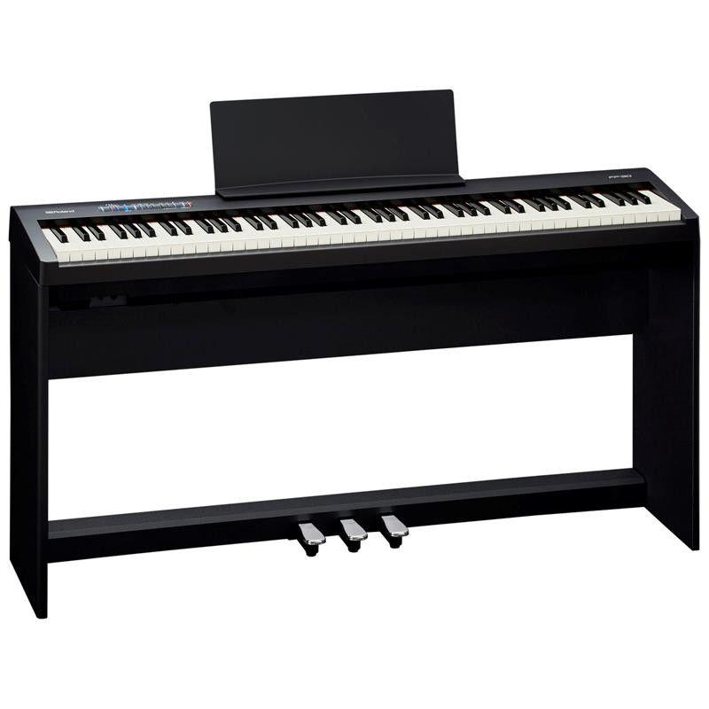 KIT PIANO DIGITAL ROLAND FP-30 BK