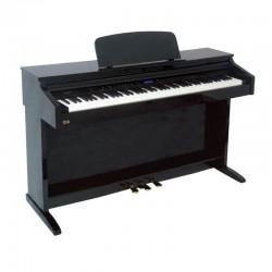 PIANO DIGITAL RINGWAY TG-8875N LACADO NEGRO