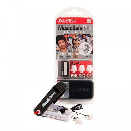 TAPON OIDO ALPINE MUSIC SAFE PRO WHITE