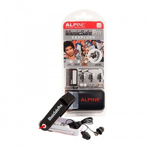 TAPON OIDO ALPINE MUSIC SAFE PRO BLACK
