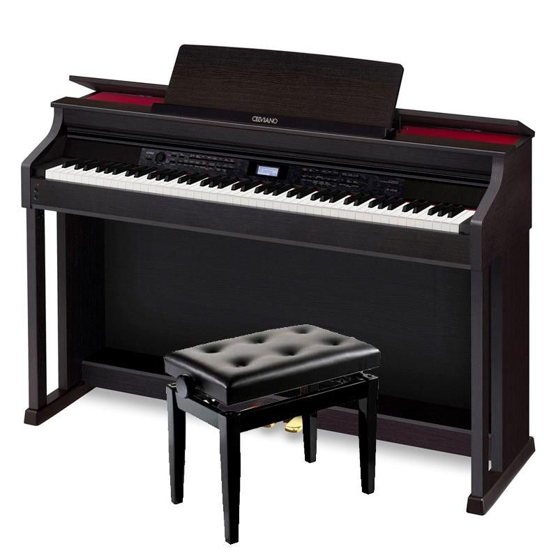 KIT PIANO DIGITAL CASIO CELVIANO AP-650 BK