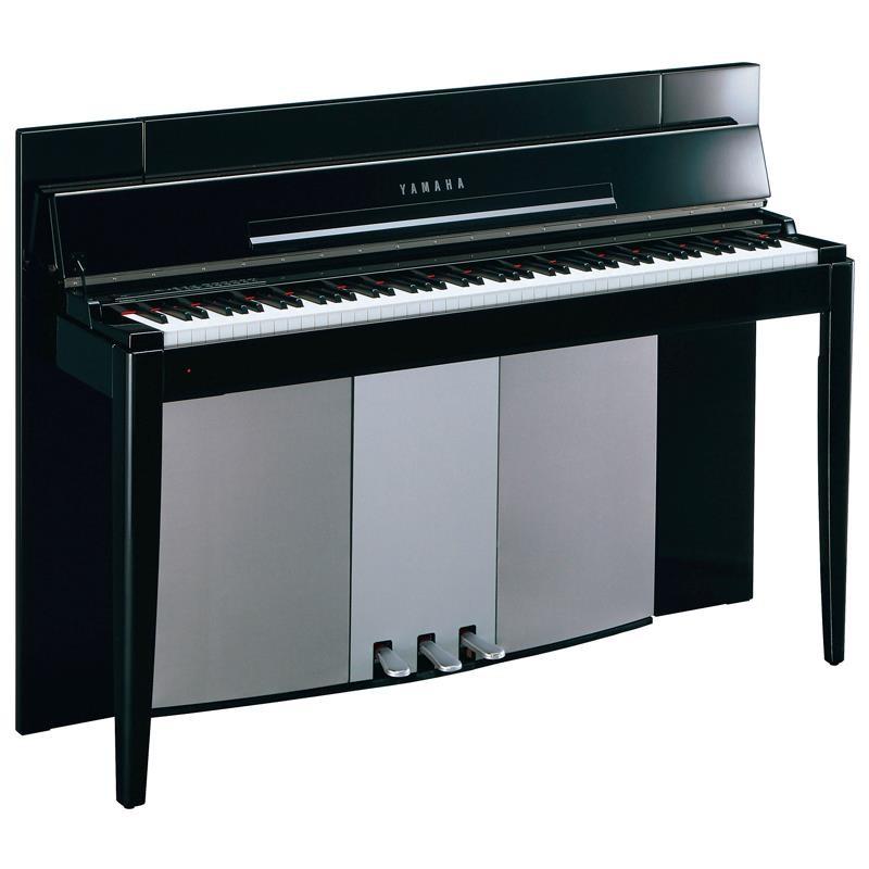PIANO DIGITAL YAMAHA MODUS F02PE NEGRO PULIDO