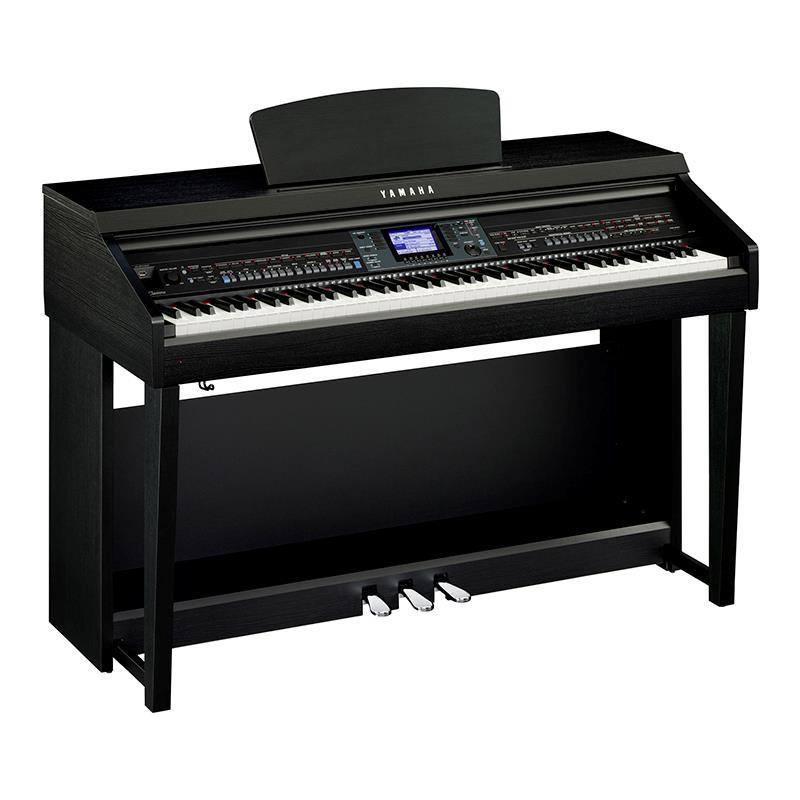 PIANO DIGITAL YAMAHA CLAVINOVA CVP-601B NEGRO