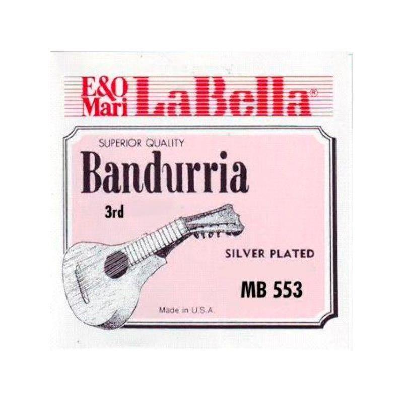CUERDA BANDURRIA 3 LA BELLA MB-553