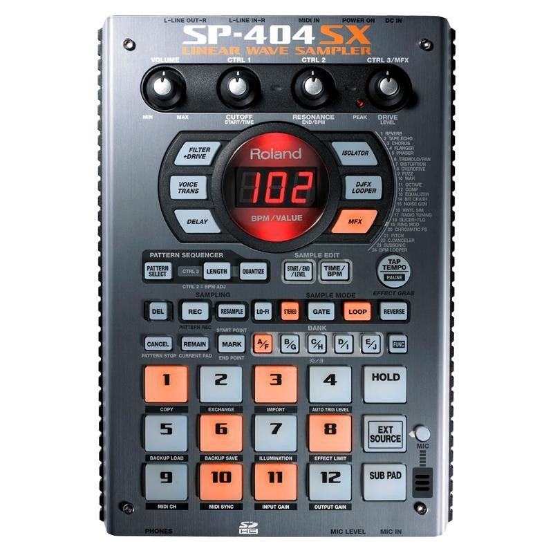 SAMPLER ROLAND SP-404SX