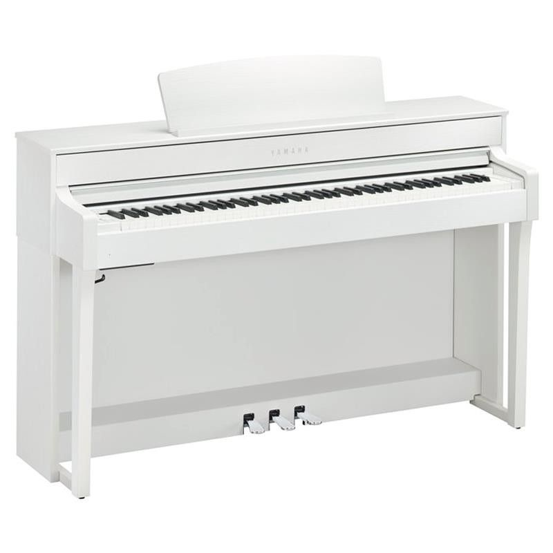 PIANO DIGITAL YAMAHA CLP-645WH BLANCO