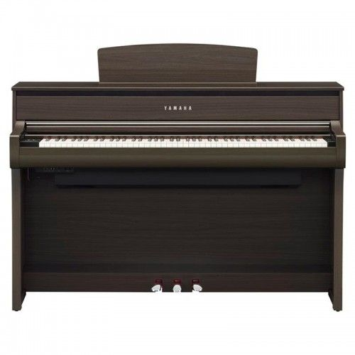 PIANO DIGITAL YAMAHA CLP-675DW NOGAL OSCURO