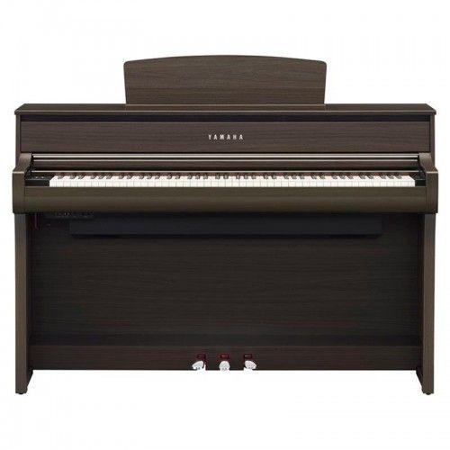 PIANO DIGITAL YAMAHA CLP-675DW NOGAL OSCURO
