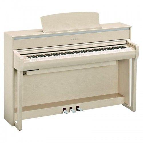PIANO DIGITAL YAMAHA CLP-675WA BLANCO FRESNO