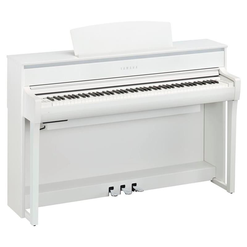 PIANO DIGITAL YAMAHA CLP-675WH BLANCO
