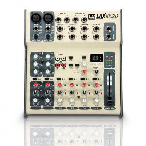 MESA MEZCLAS LD-SYSTEMS LAX-1002D 10 CANALES