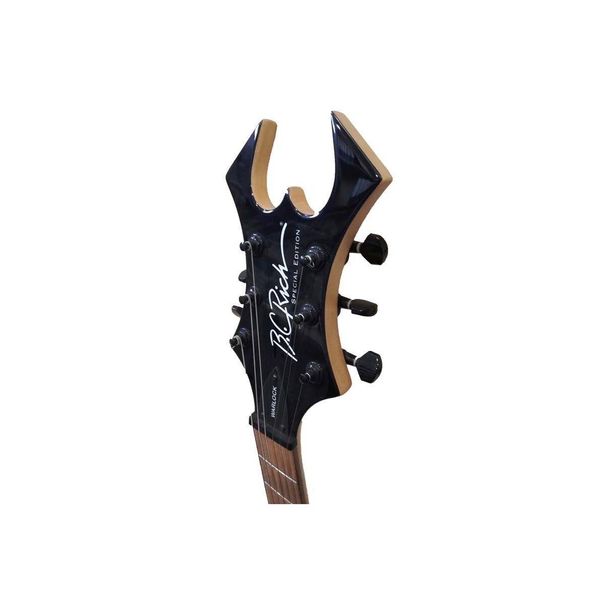 Guitarra Electrica Bc Rich Warlock Platinum Onix Klavier