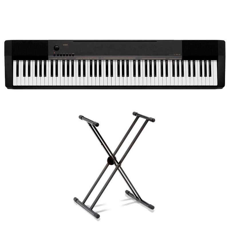 PACK PIANO DIGITAL CASIO CDP-130 BK