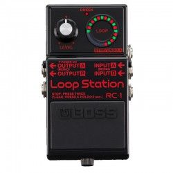 PEDAL GUITARRA BOSS RC-1 BK LOOPER NEGRO