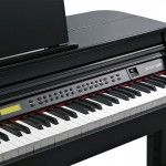 PIANO DIGITAL KURZWEIL KAG-100 COLA NEGRO PULIDO