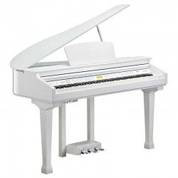 PIANO DIGITAL KURZWEIL KAG-100 COLA BLANCO PULIDO