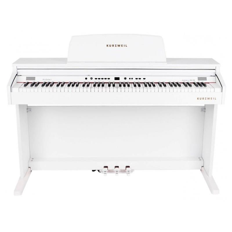 PIANO DIGITAL KURZWEIL KA-130 WH BLANCO