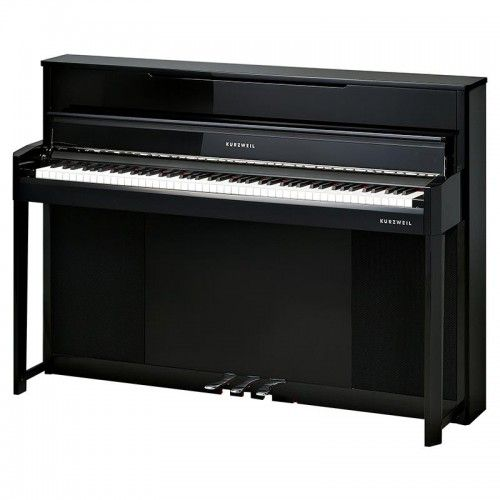 PIANO DIGITAL KURZWEIL CUP-1 VERTICAL NEGRO PULIDO
