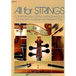 ALL FOR STRINGS VOL.1 CONTRABAJO ANDERSON-FROST