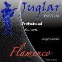 JUEGO CUERDAS JUGLAR JF-60 FLAMENCA TENSION FUERTE