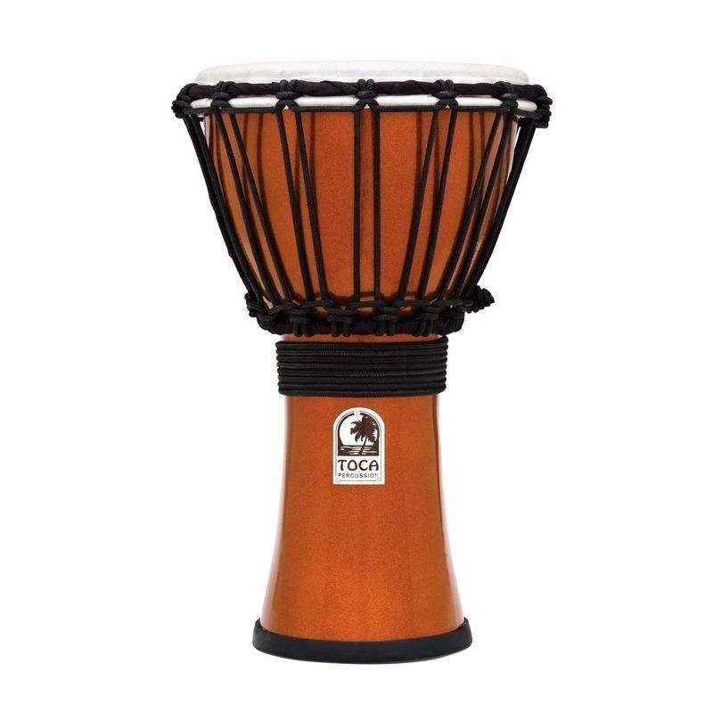 "DJEMBE TOCA 7"" TFCDJ-7MO FREESTLY CLRSND ORANGE"