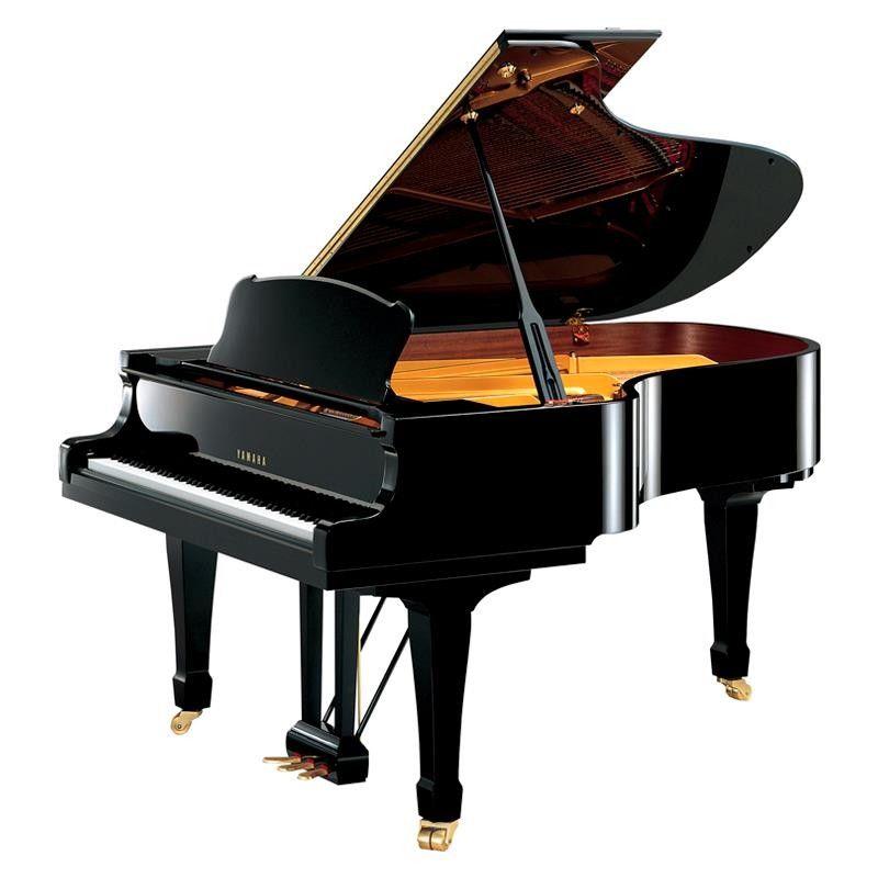 PIANO YAMAHA S-4 NEGRO PULIDO