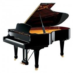 PIANO YAMAHA S-6 NEGRO PULIDO
