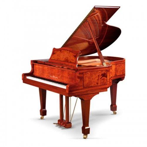 PIANO SCHULZE POLLMANN 160/GK CAOBA RAIZ PULIDO