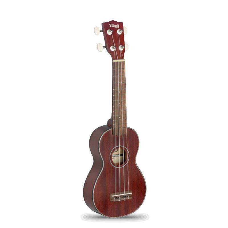 UKELELE STAGG US-40-S CAOBA TAPA SOLIDA