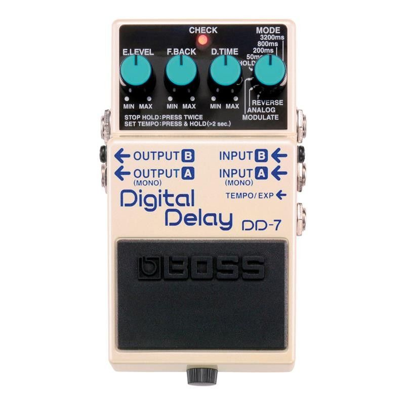 PEDAL GUITARRA BOSS DD-7