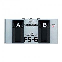 PEDAL GUITARRA BOSS FS-6 INTERRUPTOR DUAL