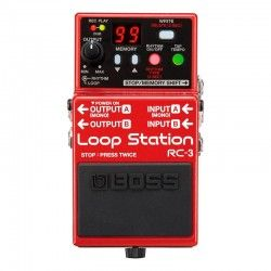 PEDAL GUITARRA BOSS RC-3 LOOP STATION