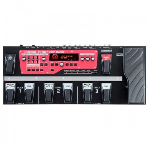 PEDALERA GUITARRA BOSS RC-300 LOOP STATION