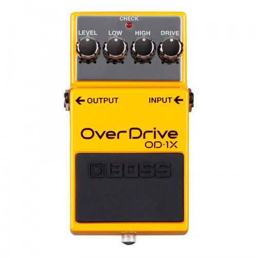 PEDAL GUITARRA BOSS OD-1X OVER DRIVE