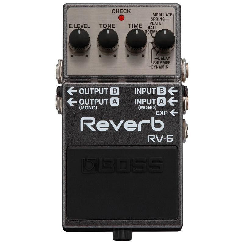 PEDAL GUITARRA BOSS RV-6 REVERB DIGITAL