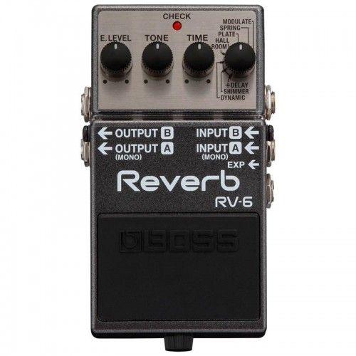 PEDAL GUITARRA BOSS RV-6 REVERB DIGITAL