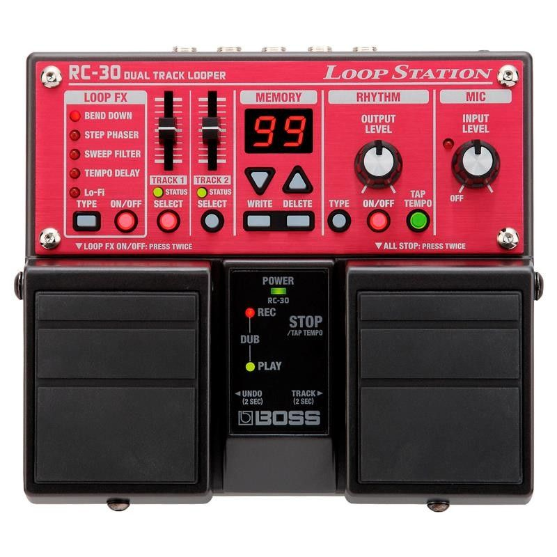 PEDALERA BOSS RC-30 LOOP STATION