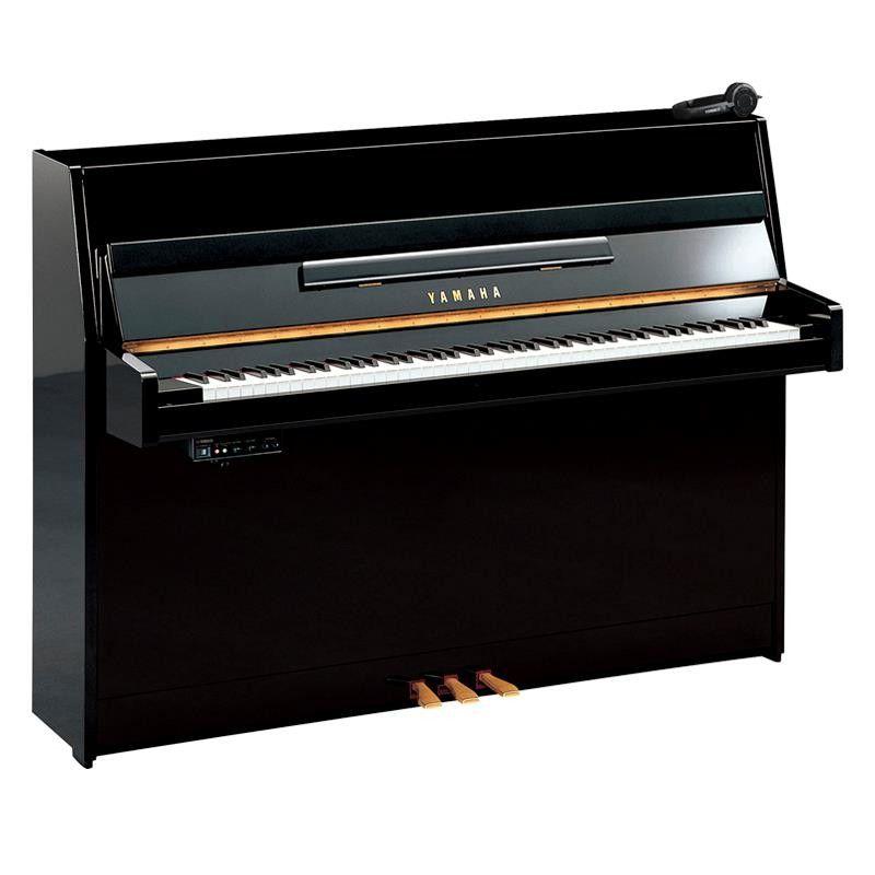 PIANO YAMAHA B-1 SG2 PE SILENT NEGRO PULIDO
